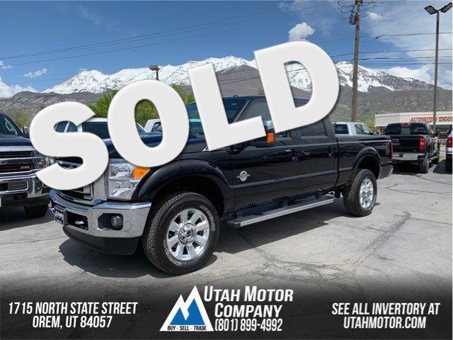 2016 Ford Super Duty F-350 SRW Pickup Lariat   Orem, Utah   Utah Motor Company in  Utah