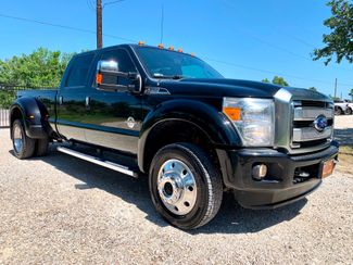 2016 Ford Super Duty F-450 Crew Cab Platinum 4x4 6.7L Powerstroke Diesel Auto Dually in Sealy, Texas 77474