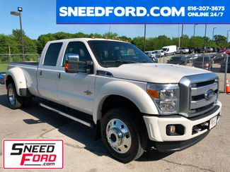2016 Ford Super Duty F-450 DRW Platinum 4X4 in Gower Missouri, 64454