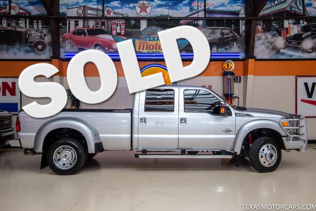 2016 Ford Super Duty F-450 DRW Pickup Platinum 4x4