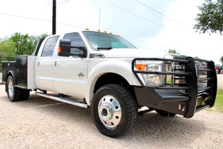 2016 Ford Super Duty F-450 Lariat Crew Cab 4X4 6.7L Powerstroke Diesel Auto CM Bed in Sealy, Texas 77474