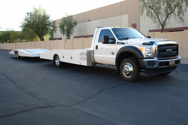 2016 Ford F-550 Hodges Ramp Truck & Trailer XL