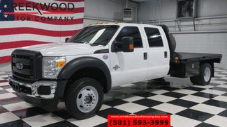 2016 Ford Super Duty F-550 200WB 4x4 Diesel Dually Flatbed 1Owner Low Miles in Searcy, AR 72143