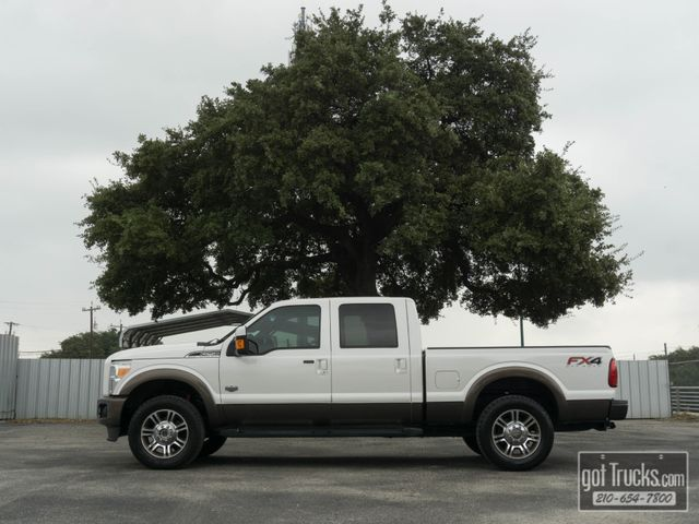 2016 Ford Super Duty F250 Crew Cab King Ranch FX4 6.7L Power Stroke 4X4