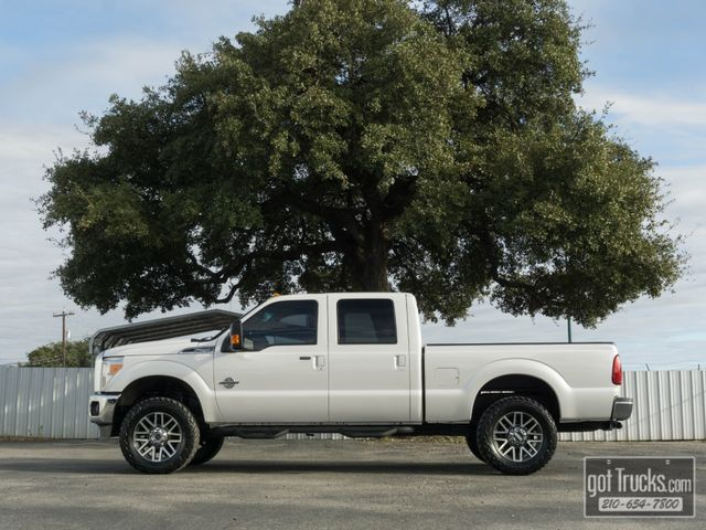 2016 Ford Super Duty F250 Crew Cab Lariat 6.7L Power Stroke Diesel 4X4