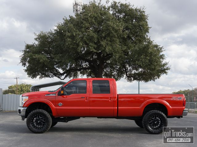 2016 Ford Super Duty F350 Crew Cab Lariat FX4 Power Stroke Diesel 4X4
