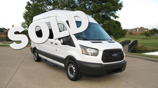 "2016 Ford Transit 350 15 Passenger  148"" High Roof Extended Wagon Irving, Texas 0"