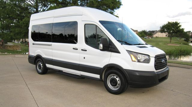 "2016 Ford Transit 350 15 Passenger  148"" High Roof Extended Wagon Irving, Texas 10"