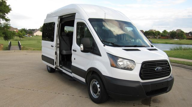"2016 Ford Transit 350 15 Passenger  148"" High Roof Extended Wagon Irving, Texas 23"