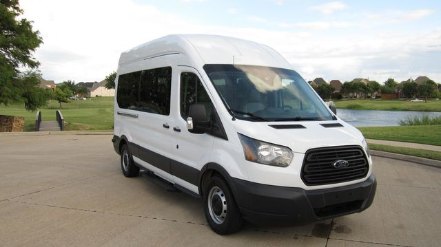 "2016 Ford Transit 350 15 Passenger  148"" High Roof Extended Wagon Irving, Texas 24"
