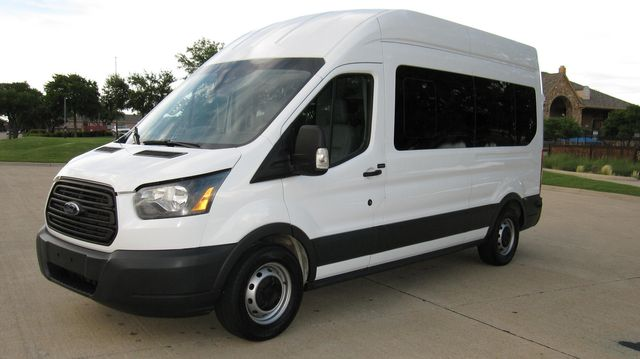 "2016 Ford Transit 350 15 Passenger  148"" High Roof Extended Wagon Irving, Texas 94"