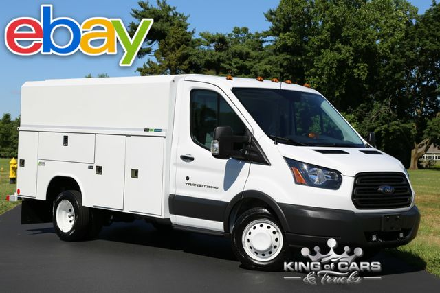 2016 Ford Transit 350 Hd DRW READING CSV UTILITY SERVICE 15K MILES in Woodbury New Jersey, 08096
