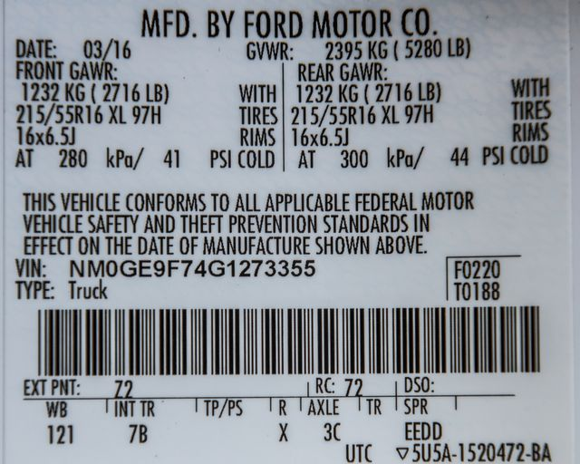 2016 Ford Transit Connect Wagon XLT Burbank, CA 33