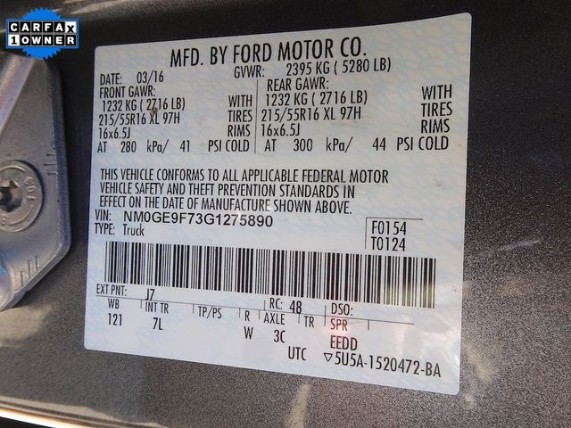 2016 Ford Transit Connect Wagon XLT Madison, NC 50