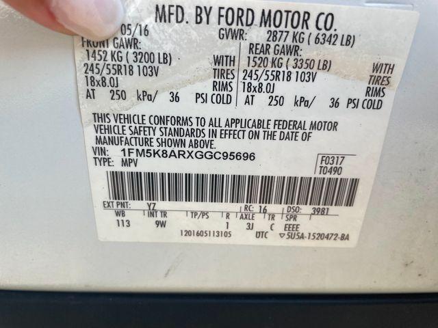 2016 Ford Utility Police Interceptor Hoosick Falls, New York 6