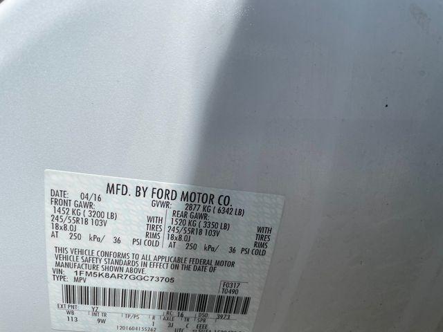 2016 Ford Utility Police Interceptor Hoosick Falls, New York 7
