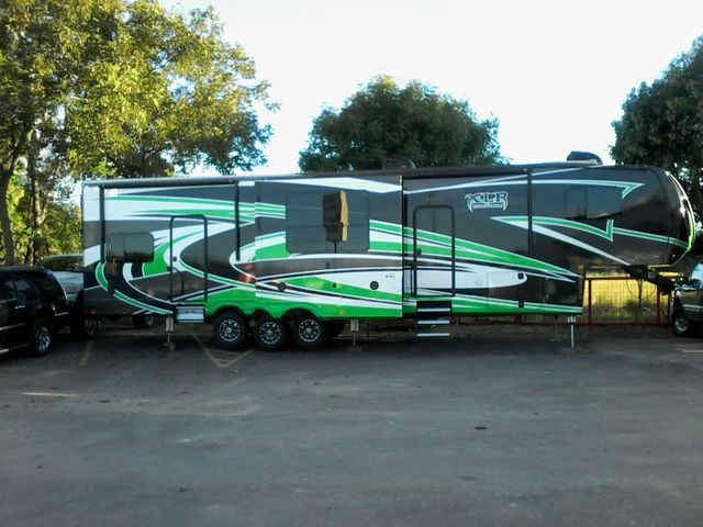 2016 Forest River XLR Thunderbolt 355 AMP 5th Wheel Boerne, Texas 0