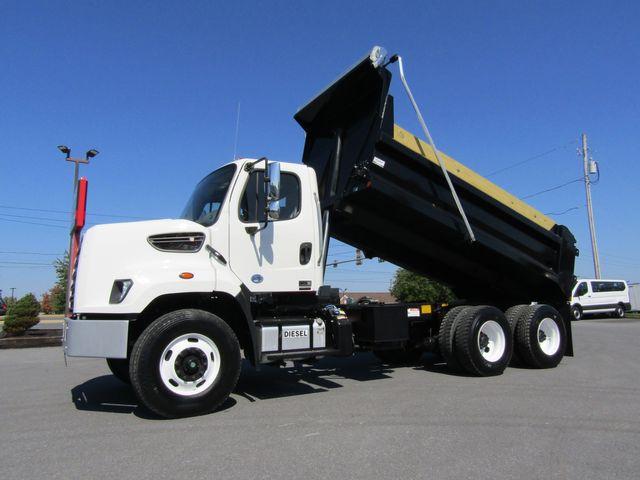 2016 Freightliner 108SD 14' Tandem Axle Dump Truck