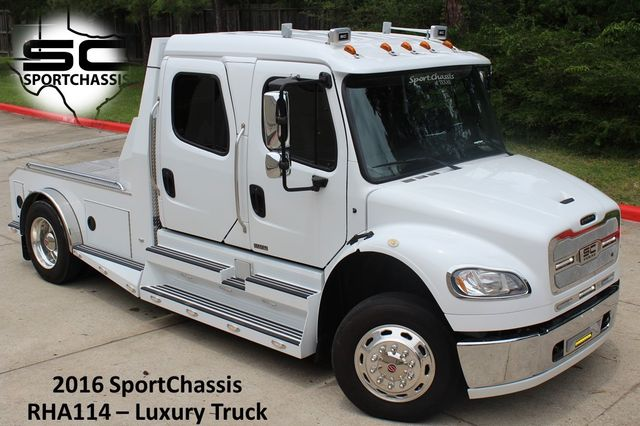 2016 Freightliner M2 106 SPORTCHASSIS CONROE, TX 1