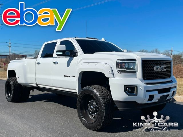 2016 Gmc Denali 3500hd DRW 4X4 CUSTOM BUILT TWIN TURBO in Woodbury, New Jersey 08093