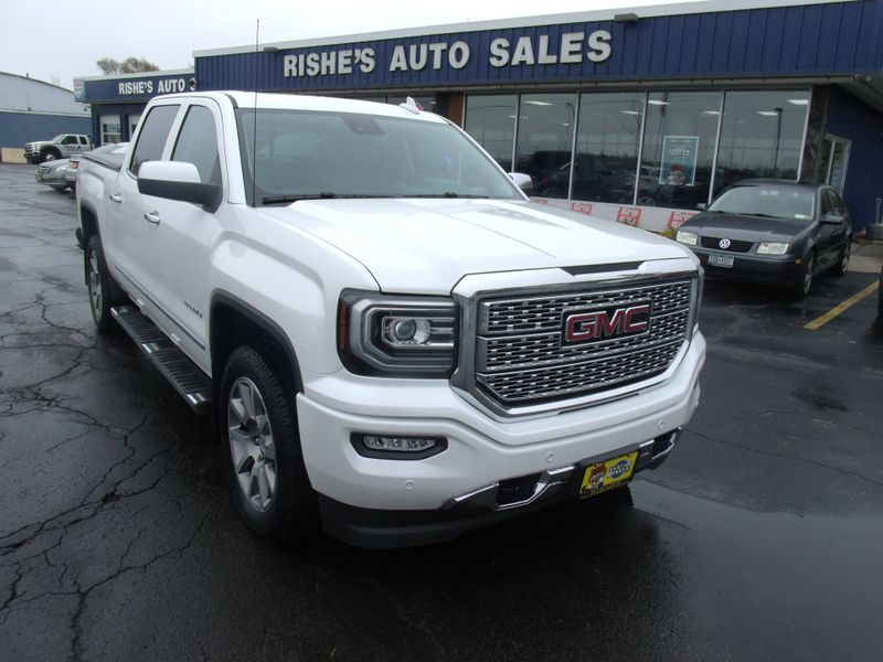 2016 GMC Sierra 1500 4X4 Denali Crew | Rishe's Import Center in Ogdensburg New York