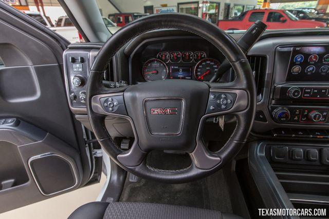 2016 GMC Sierra 1500 SLE 4X4 in Addison Texas, 75001