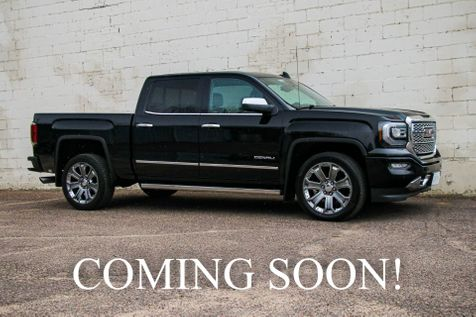 2016 GMC Sierra 1500 Denali Crew Cab 4x4 w/Navigation, Backup Cam, Heated/Ventilated Seats, 15k Miles in Eau Claire