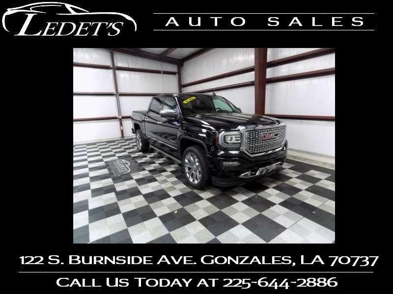 2016 GMC Sierra 1500 Denali - Ledet's Auto Sales Gonzales_state_zip in Gonzales Louisiana