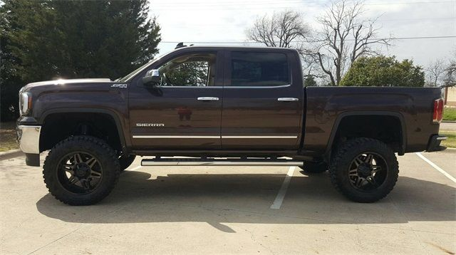 2016 GMC Sierra 1500 SLT LIFT/CUSTOM WHEELS AND TIRES in McKinney, Texas 75070