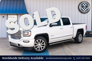 2016 GMC Sierra 1500 DENALI 6.2L V8 CLEAN CARFAX LOADED NAVIGATION NICE in Rowlett