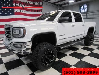 2016 GMC Sierra 1500 SLT 4x4 Z71 Lifted Black 20s New Tires Nav Sunroof in Searcy, AR 72143