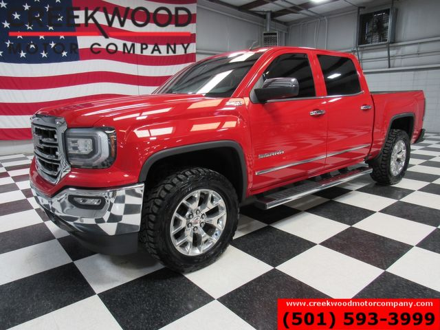 2016 GMC Sierra 1500 SLT 4x4 Z71 Red 20s 1 Owner Leveled New Toyo Tires in Searcy, AR 72143