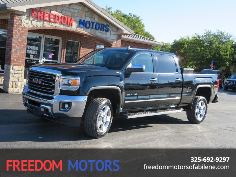 2016 GMC Sierra 2500HD SLT 4x4 Duramax Diesel | Abilene, Texas | Freedom Motors  in Abilene Texas