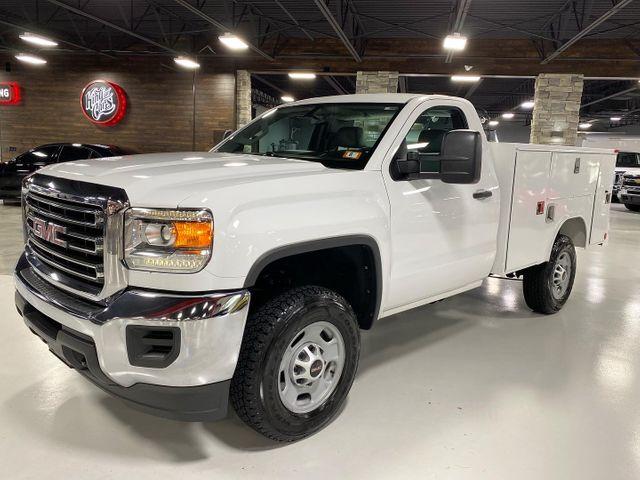 2016 Gmc Sierra 2500hd 6.0L V8 GAS REG CAB UTILITY TRUCK 1-OWNER in Woodbury, New Jersey 08093