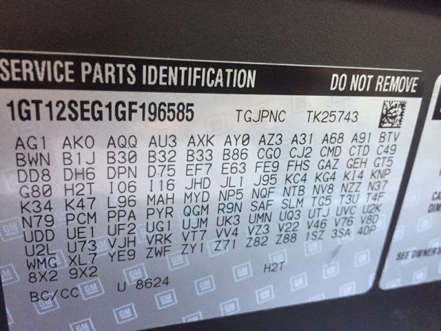 2016 GMC Sierra 2500HD SLE Z71 in Boerne, Texas 78006