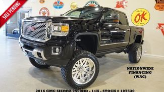2016 GMC Sierra 2500HD Denali 4X4 DIESEL,LIFTED,ROOF,NAV,AMERICAN FORC... in Carrollton TX, 75006