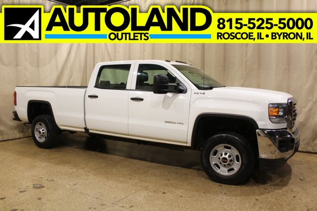 2016 GMC Sierra 2500HD Long Bed 4x4