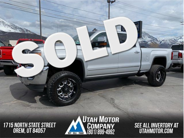 2016 GMC Sierra 2500HD SLT   Orem, Utah   Utah Motor Company in  Utah