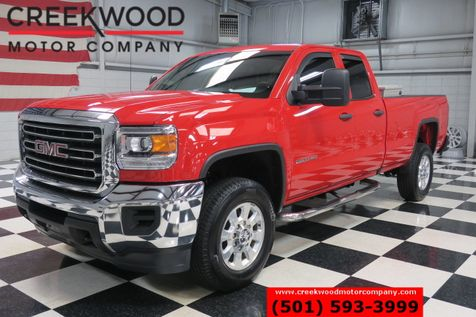 2016 GMC Sierra 2500HD W/T SLE 2WD Double Cab Gas Red Chrome 18s 1 Owner in Searcy, AR