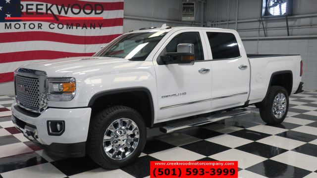 2016 GMC Sierra 2500HD Denali 4x4 Diesel White Nav Roof Chrome 20s 1Owner in Searcy, AR 72143