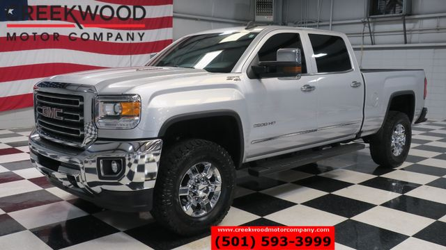 2016 GMC Sierra 2500HD SLT 4x4 Diesel Z71 Silver Leather Nav Chrome CLEAN