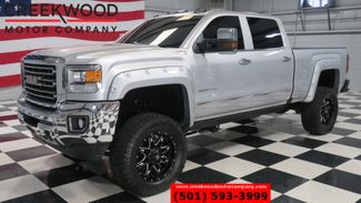 2016 GMC Sierra 2500HD SLT 4x4 Diesel Lifted Black 20s New Tires Nav NICE in Searcy, AR 72143