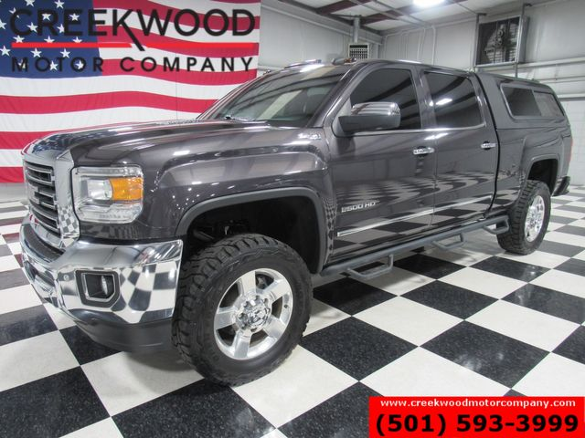 2016 GMC Sierra 2500HD SLT 4x4 Diesel Lift ARE Shell Nav Roof Chrome 20s