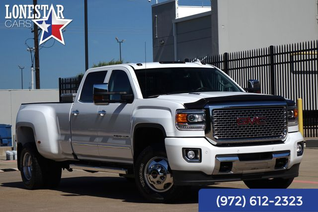 2016 GMC Sierra 3500 Denali Diesel DRW Leather 4WD