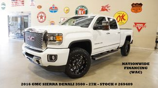 2016 GMC Sierra 3500HD Denali 4X4 DIESEL,SUNROOF,NAV,HTD/COOL LTH,27K in Carrollton, TX 75006