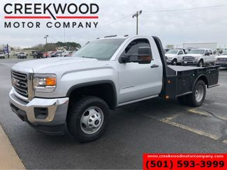 2016 GMC Sierra 3500HD WT 4x4 Diesel Dually Regular Cab Flatbed 1 Owner in Searcy, AR 72143