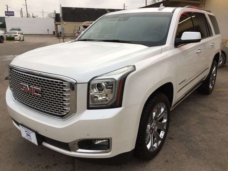 2016 GMC Yukon Denali   Brownsville TX  English Motors  in Brownsville, TX