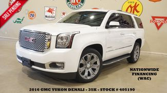 2016 GMC Yukon Denali 4WD HUD,ROOF,NAV,REAR DVD,HTD/COOL LTH,22'S,35K in Carrollton, TX 75006