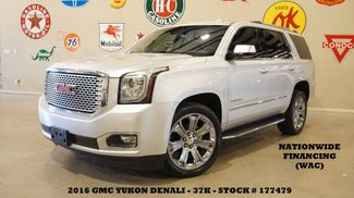 2016 GMC Yukon Denali 4WD ROOF,NAV,REAR DVD,HTD/COOL LTH,22'S,37K in Carrollton, TX 75006