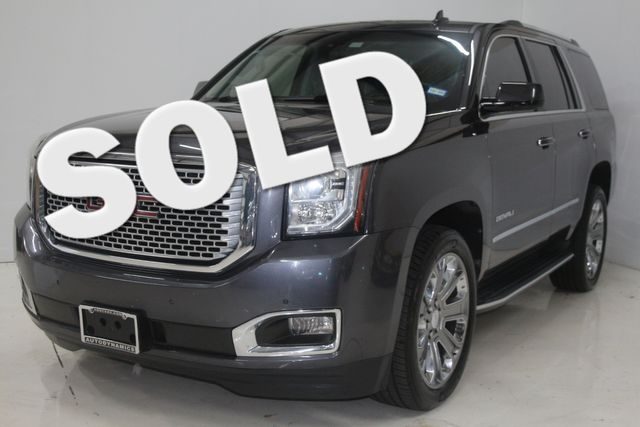 2016 GMC Yukon Denali Houston, Texas 0